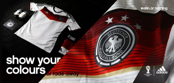 Özil, Podolski & Schweinsteiger star in an edgy new Adidas video promoting the new Germany World Cup kit