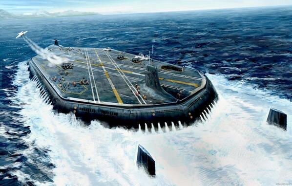 空母 潜水