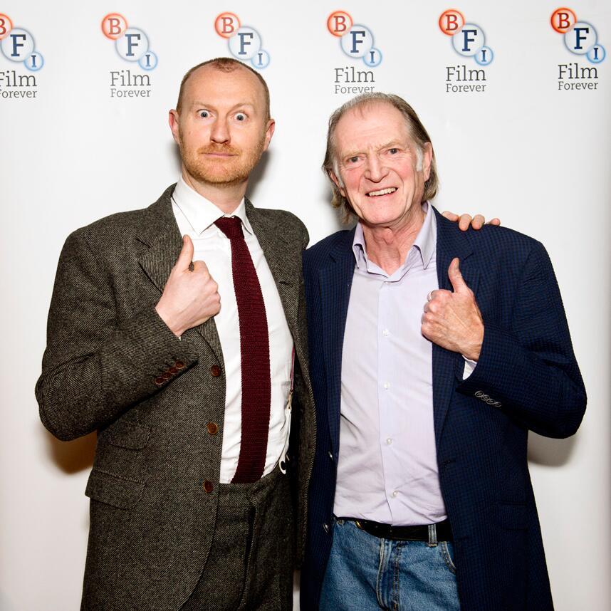Twitter / BFI: . @Markgatiss & David Bradley ...
