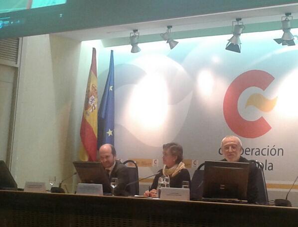 Alfonso González Hermoso de Mendoza, Director - Evaluación Cooperación Territorial MECD en #educacionparaeldesarrollo http://t.co/wuATRRCaAf