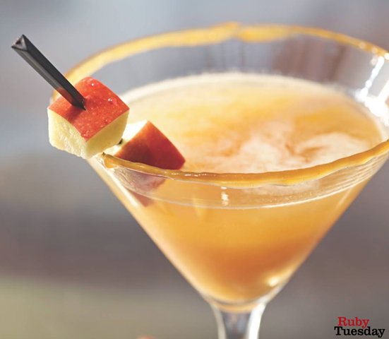 Caramel Apple Martini Ruby Tuesday
