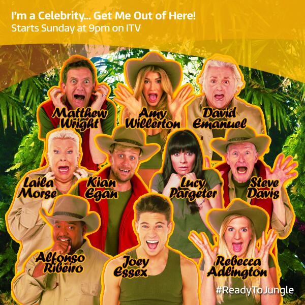 I'm A Celebrity 2018 full cast line-up revealed - Radio Times
