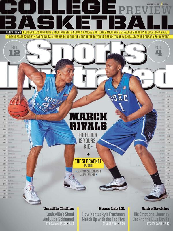 "7a7f67398b38 "" SInow  This Week s  March Rivals  College Hoops Preview Cover (2 of 4)    UNCvsDUKE"
