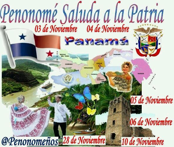 Penonome os on twitter panam la patria m a suelo grato for Diario mural fiestas patrias chile