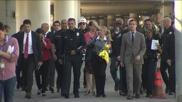 Thumbnail for Los Angeles airport shooting: TSA agent down