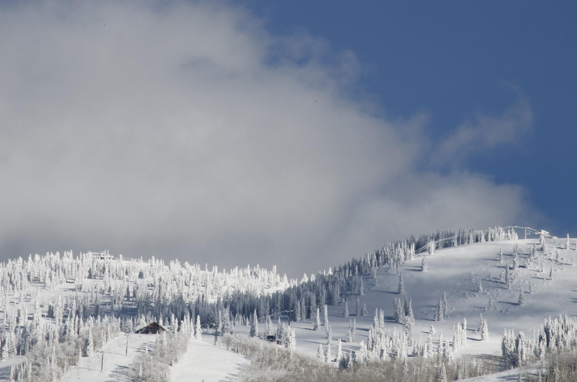 Twitter / MountainResorts: Storm Peak is looking VERY ...