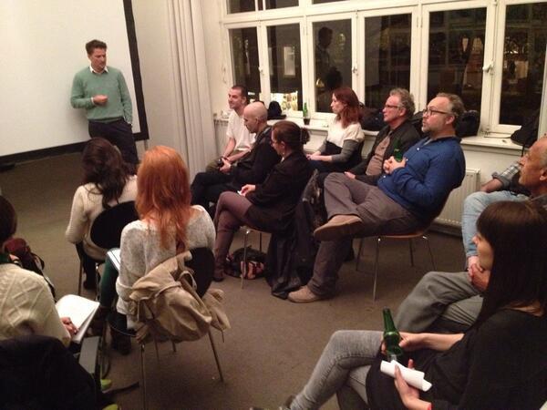 Kick off at #WPPh office with the #JSM13. Michiel Munneke talking about World Press Photo. http://t.co/YoNnoWEdRO