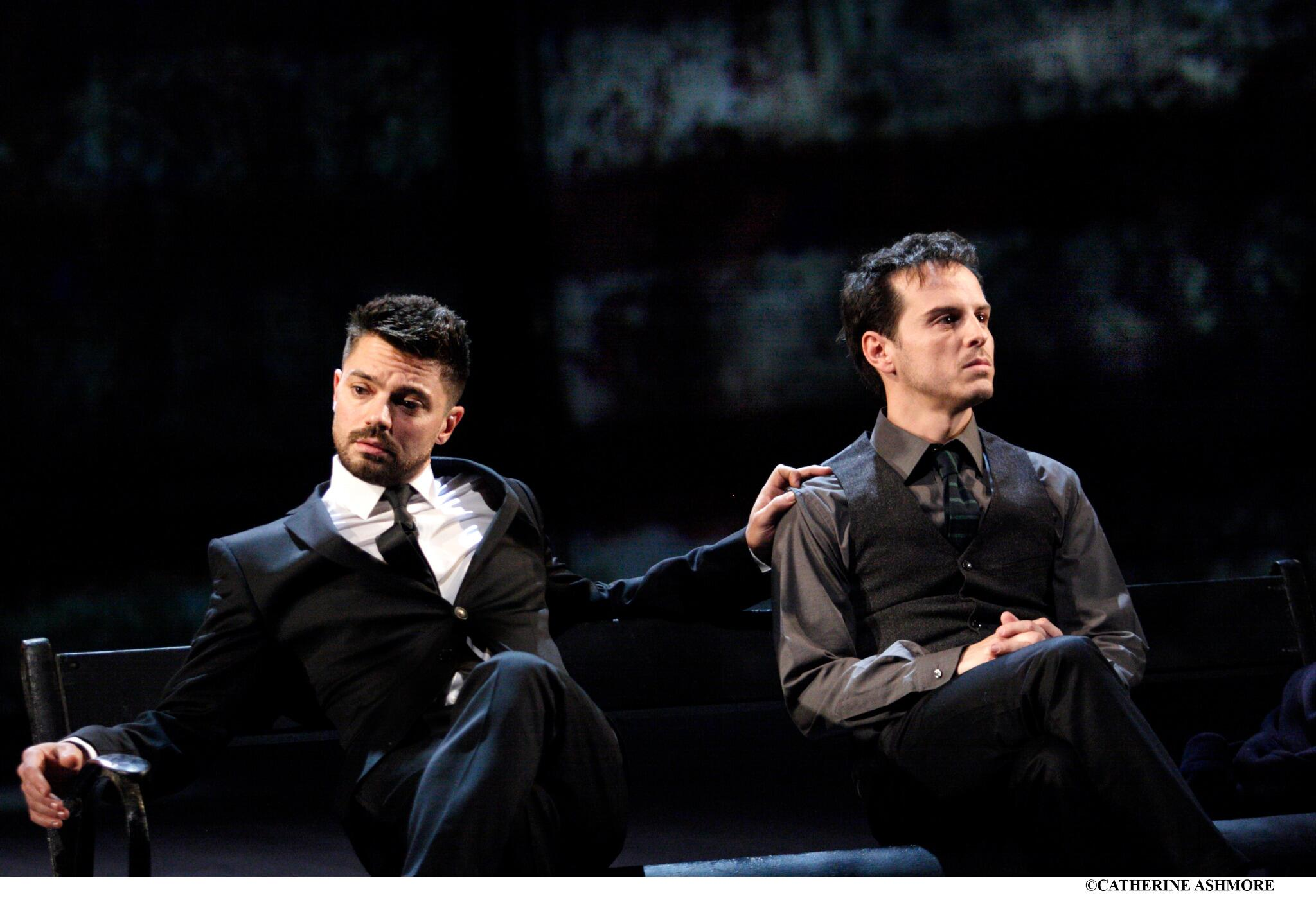 Twitter / NationalTheatre: Dominic Cooper and Andrew Scott ...