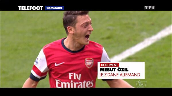 Wenger tells Téléfoot that Özil dribbles better than Zidane & Zlatan is better than Messi and Ronaldo at the moment