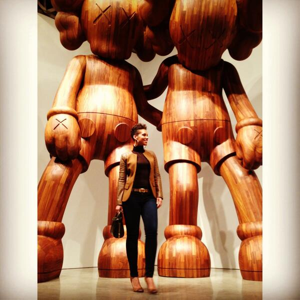 #Kaws opening....there's no limit to the things we can do #dreambig ;-) http://t.co/M4AEWjIwGe