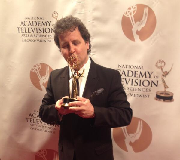 Show Creator & Producer Don DuPree showing #Emmy a little love! #EmmyChicago http://t.co/zz4VnuAngm