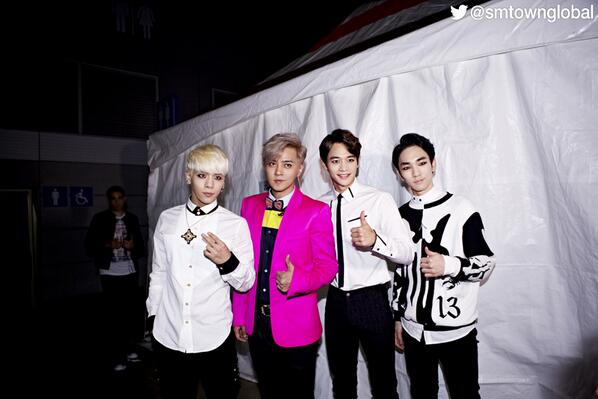 Smtown On Twitter Shinee With Show Lo 罗志祥 At 2013 Youtube Music Awards In Seoul Http T Co Tcmy6t2pn6