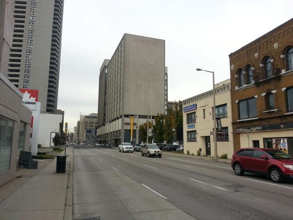 No congestion on Main Street west of Walnut