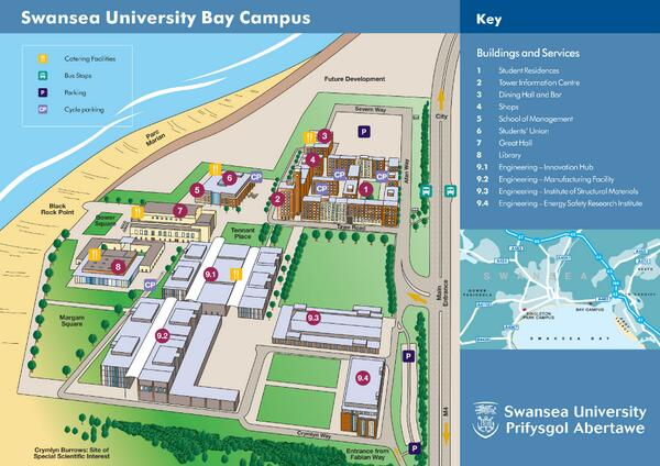 Swansea University Campus Map Swansea Uni Library on Twitter: