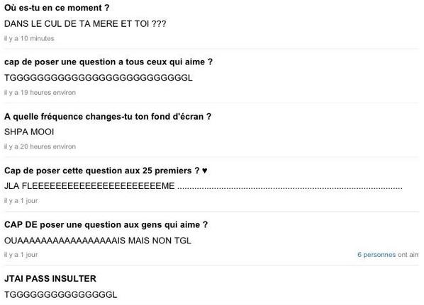 Super Les perles de Ask.fm (@LeMeilleurDeAsk) | Twitter TC27