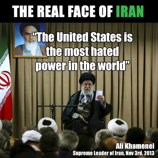 The real face of IRAN - Ali Khamenei