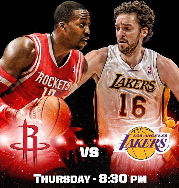 Rockets Vs Warriors May 24: [Game 6] Rockets Vs Lakers