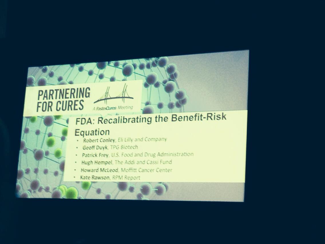 Twitter / chemobrainfog: FDA recalibrating benefit risk ...