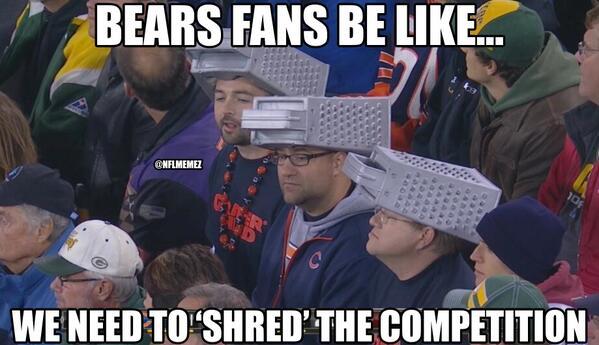 Nfl Memes On Twitter Chicago Bears Vs Green Bay Packers Httpt