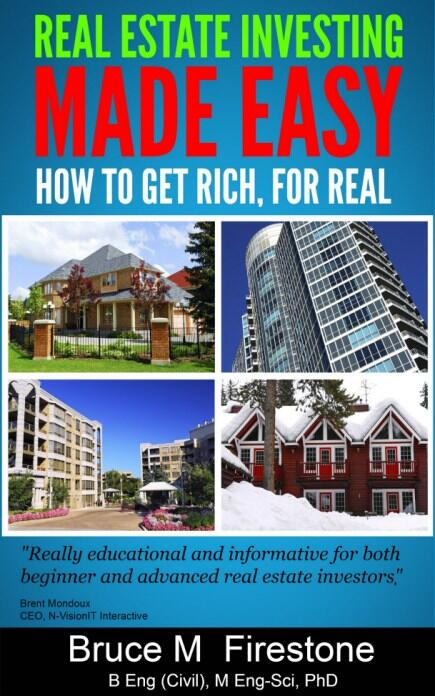 Bruce M Firestone Real Estate Investing Made Easy, Get Rich for Real