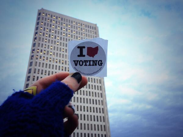Voted! Can't wait to see who wins all of the races, but especially mayor. #ToledoVotes13 http://t.co/rleM1lmo36