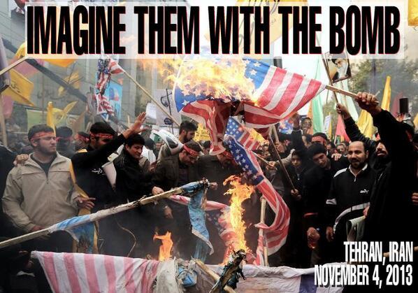 Imagine them with the bomb - iran 2013