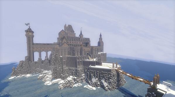 今まで自分が造ったマイクラ建築...