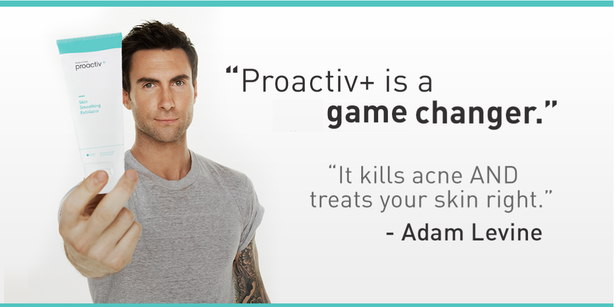 proactiv on twitter adam levine says new proactiv is a game