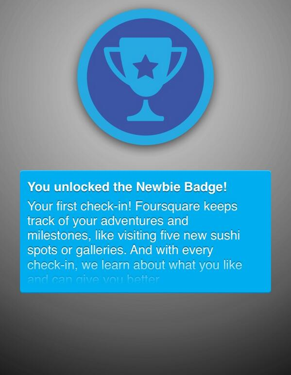 "Unlocked the ""Newbie"" badge! http://t.co/JQ8onwKRqY #aarphunt http://t.co/cDM8S4OVja"