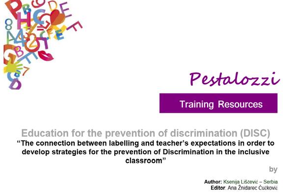 Pestalozziprogramme On Twitter Training Resources Prevention Of