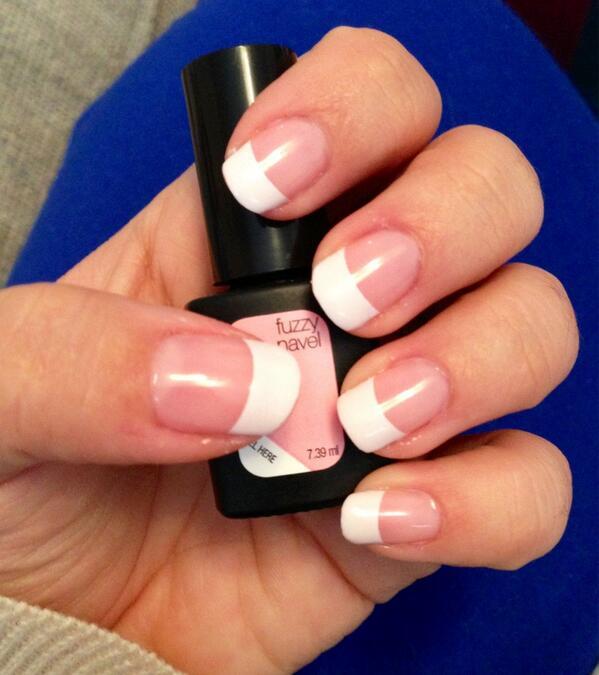 Sensationail Nails French Manicure Instructions