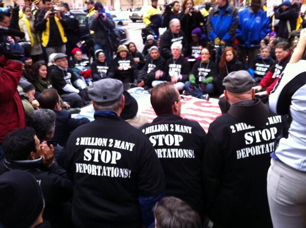 "@gopconference @SpeakerBoehner  ""The people, united, will never be defeated,"" #TimeIsNow. Arrests eminent: http://t.co/VaYUzwLfT7"""