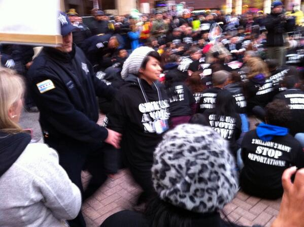 Arrests happening NOW!! #TimeIsNow: http://t.co/xEhOOgxSes