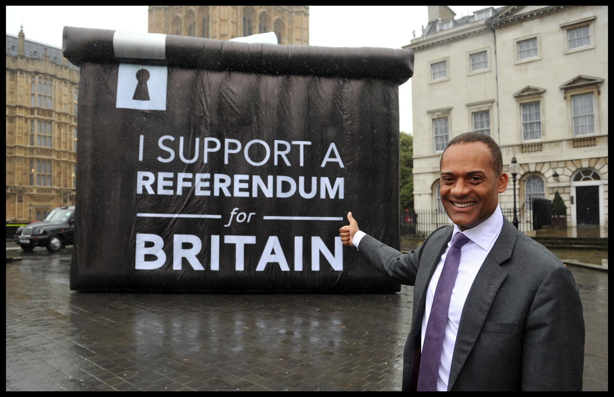 I support a referendum