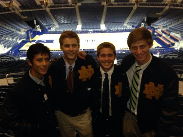 Look who got their letter jackets today!! Thanks @NDMonogram http://t.co/WqBqTz9W2M
