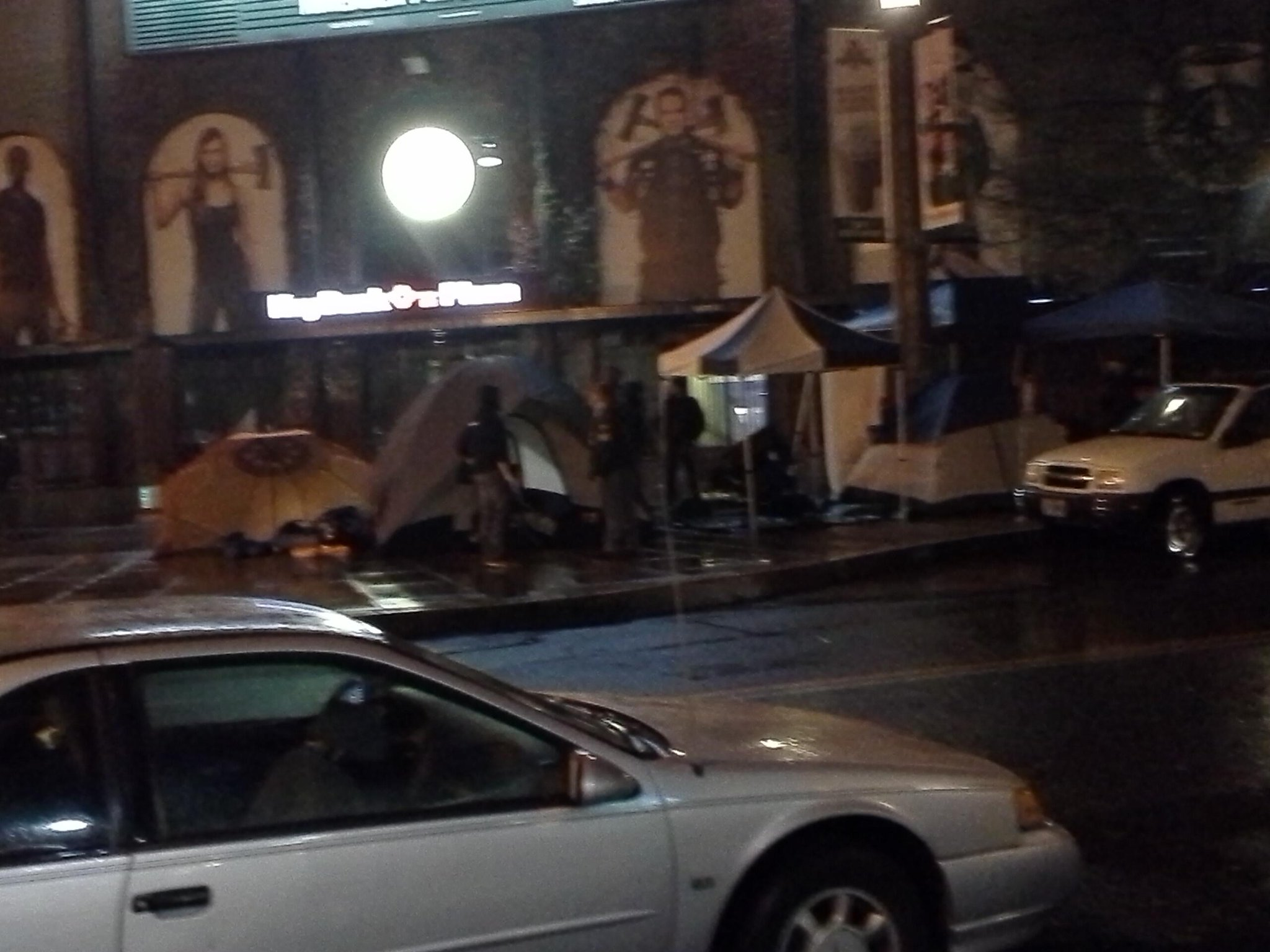 22 hours before kick off, fans were camping outside the stadium for the Timbers v Sounders match