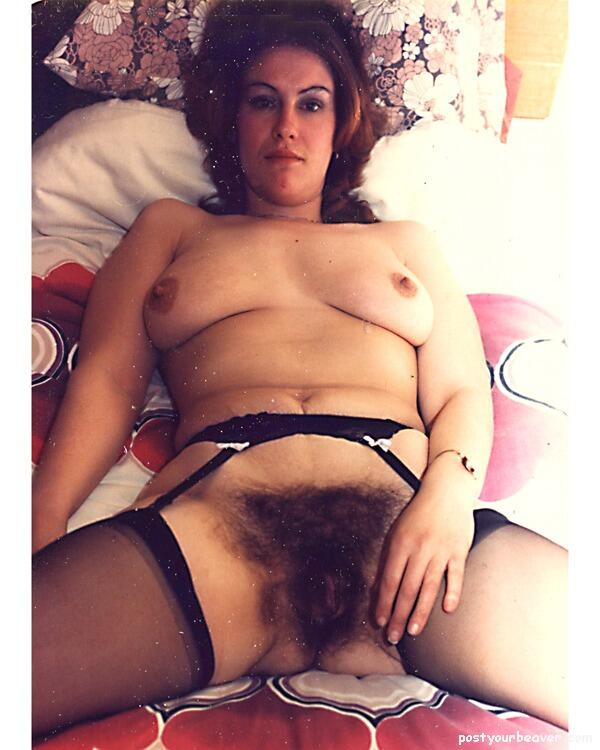 Retro Hairy Cunt 48
