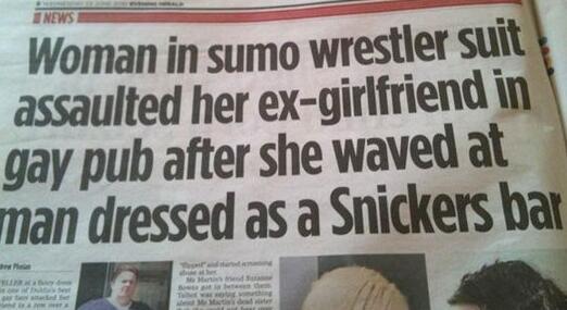 Perhaps the greatest newspaper headline ever written, via @DelishDirection and @eliistender10 http://t.co/1icvX8pRqn