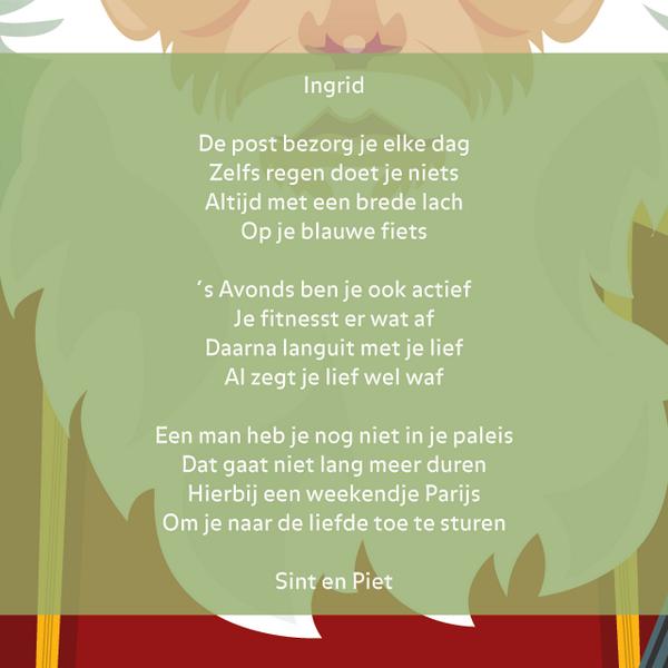 Sinterklaasgedichten At Dichterklaas Twitter