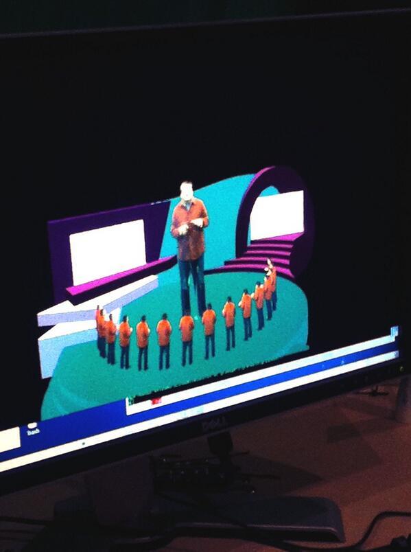 Xavier Schmidt en 3D ! @f3Alpes à #Inria #grenoble http://twitter.com/inria_grenoble/status/398444135600128000/photo/1