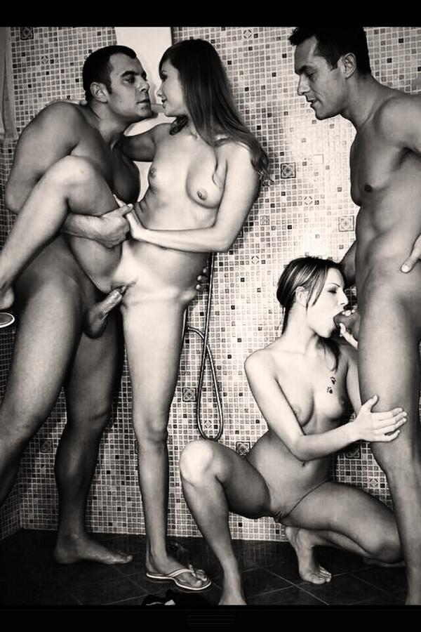 Group shower fuck — 8