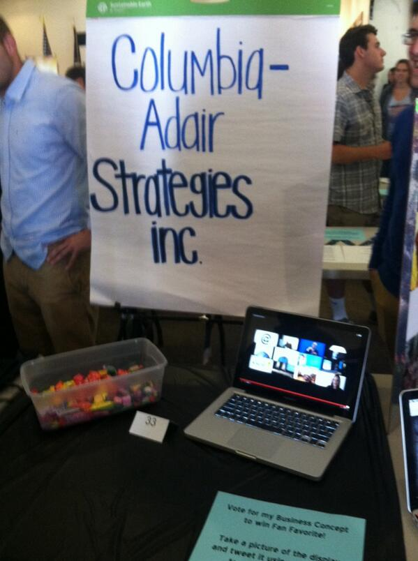 Columbia Adair strategies inc. come vote for us!!! #LWCexpo http://t.co/3ZUg0L3qdr