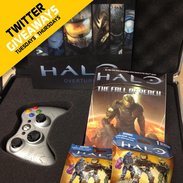 GIVEAWAY: Take the fight to the Covenant with our Halo prize pack! RT+Follow for your shot to win. CC: @HaloWaypoint http://t.co/J2N4P0E7o9