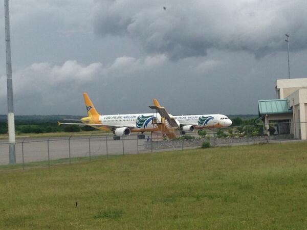 GenSan Airport serves as evacuation site for planes http://t.co/D9fh9NUAaq