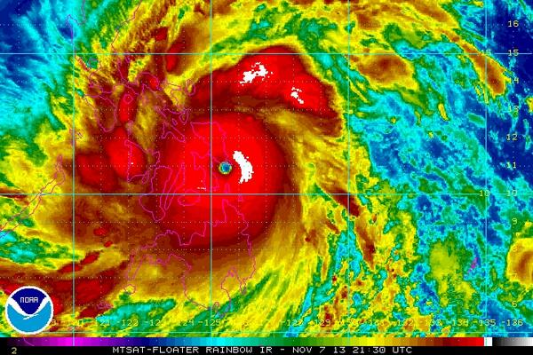 Our thoughts & prayers are with the people of the #Philippines... Super #Typhoon #Haiyan http://t.co/gLLPtQ8QWq http://t.co/3pKwZMxFX8