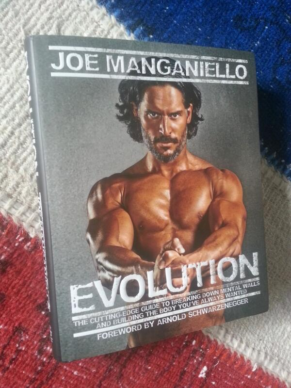 Joe Manganiello Evolution Book