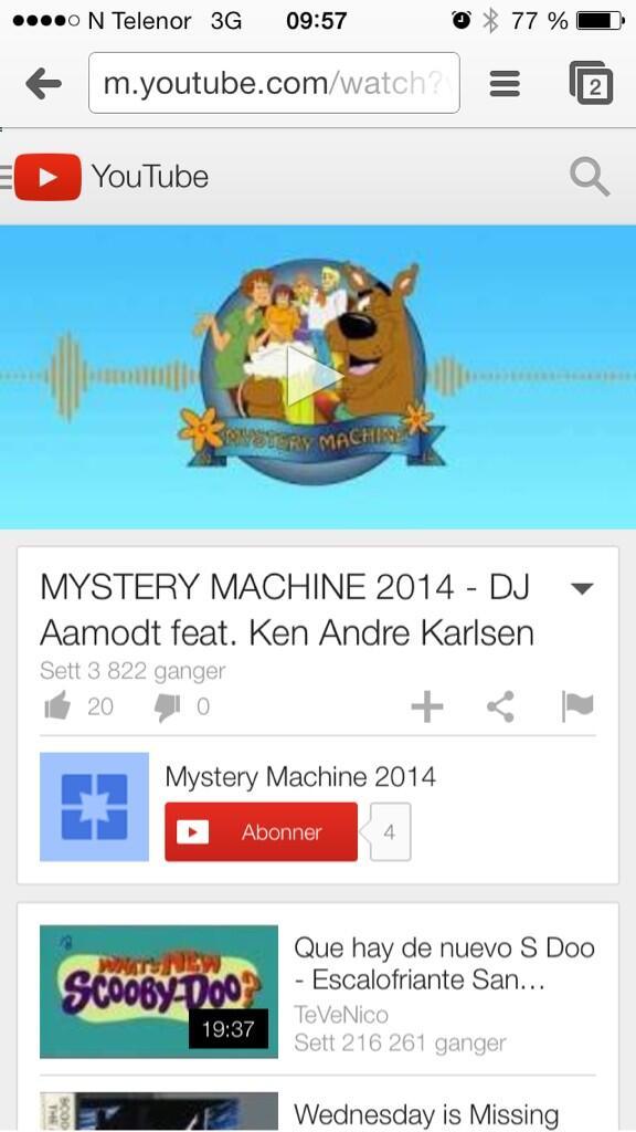 Scooby Doo kjønn video