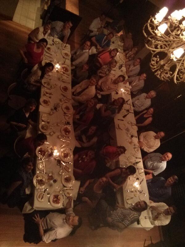 Dinner pic  from last night. #googledigiteach http://t.co/xxj9cFgeBt