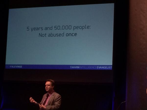 When you trust ppl they step up; love this from @falkvinge <<< Start with trusting ppl #meaningconf http://t.co/zeyqN2dWDe
