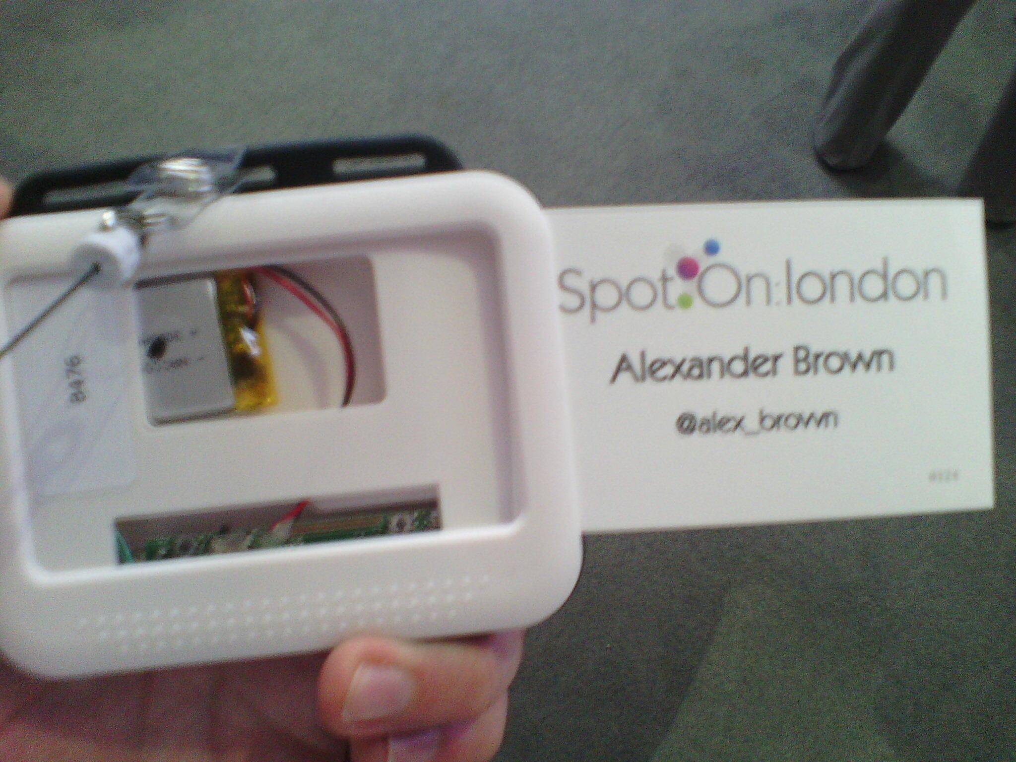 SpotOn badge